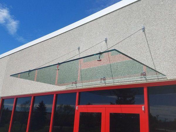 glass canopy, milwaukee
